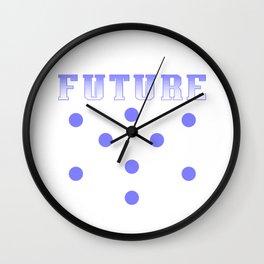 Computer Funny Programmer Algorithm Tech Gift  Wall Clock