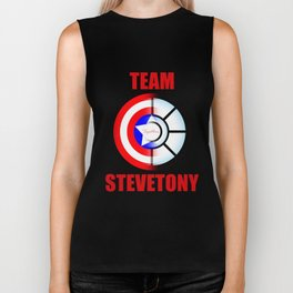 "Team SteveTony - ""Together."" Biker Tank"
