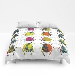 Beetle / Bug Colourful Print Comforters