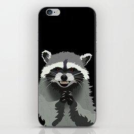Diabolical Racoon iPhone Skin