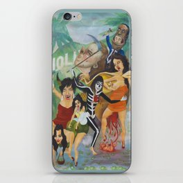 An Otto Dix Kardashian Portrait iPhone Skin