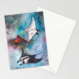 Navigando nello spazio Stationery Cards