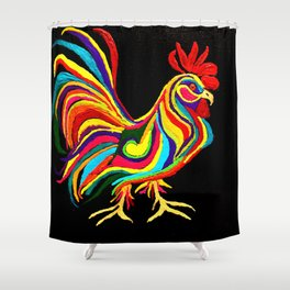 El Gallo Shower Curtain