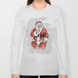 Santa Shhhh Long Sleeve T-shirt