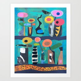 Vase Collection Art Print