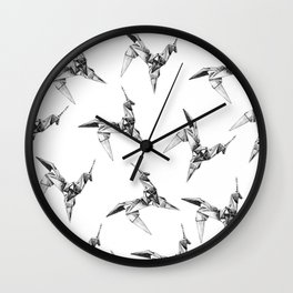 Paper Unicorn Wall Clock