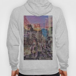 San Francisco city illusion Hoody