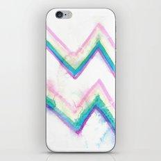 watercolor zig zag iPhone & iPod Skin