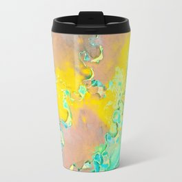 Botanica Fantastica Yellow Travel Mug