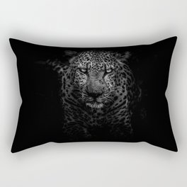 Black Panthera Rectangular Pillow
