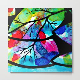 Celebration of life. The harmony of the universe. Metal Print