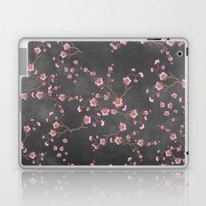 SAKURA LOVE - GRUNGE BLACK Laptop & iPad Skin