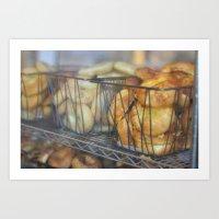 Bagel Time Art Print