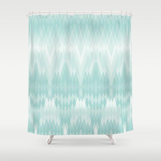 Pattern pending Shower Curtain