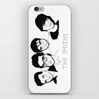 the smiths iPhone & iPod Skins featuring The Smiths by ☿ cactei ☿