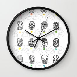 (The Ghosts of our) Forefathers Wall Clock