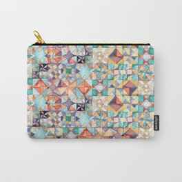 watercolour quilt Carry-All Pouch