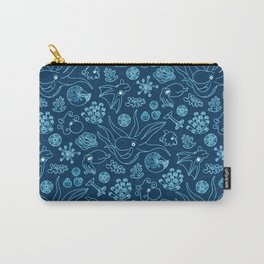 Cephalopods - Bioluminescence Carry-All Pouch