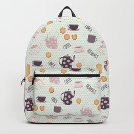 Coffee and Cookies (Main Pattern) Backpack