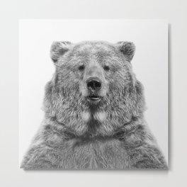 Bear European Metal Print