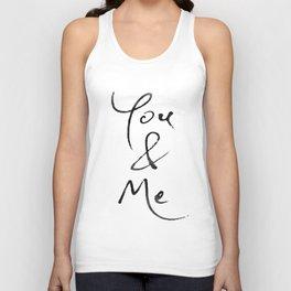 You & Me Unisex Tank Top