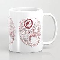 ying yang Mugs featuring ying yang by Tapioles II