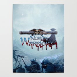 Nordic Warriors Official Logo Poster