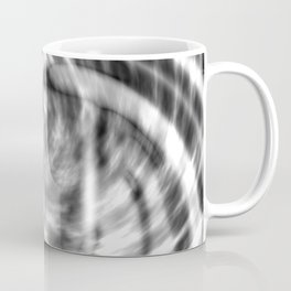 Spiral Monotone Tie Dye Coffee Mug
