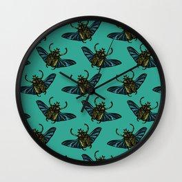 Goliath Beetle Wall Clock