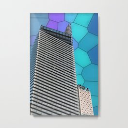 Gran Via Alien Wiew Metal Print
