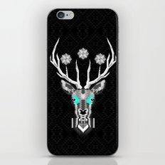 Silver Stag Geometric iPhone & iPod Skin
