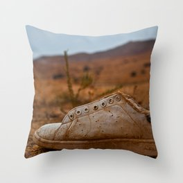 Wild Wild Sneakers Throw Pillow