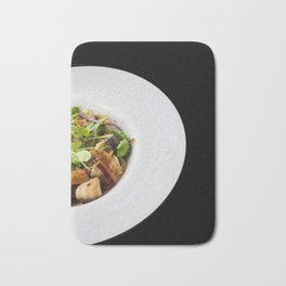 The Art of Food - Bacon Salad 2 Bath Mat