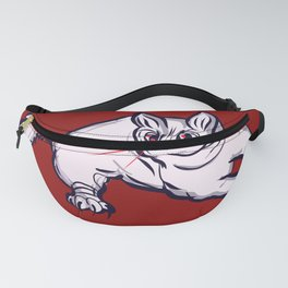 The Half-Striped Cat Fanny Pack
