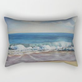 Breaking Waves Rectangular Pillow