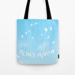 Blind River Birds (white) Tote Bag