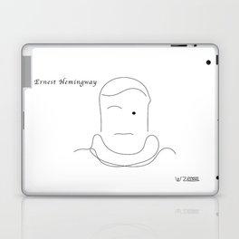 Ernest Hemingway, by Will Zurmann Laptop & iPad Skin