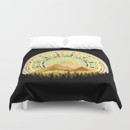 Disc Nature Duvet Cover