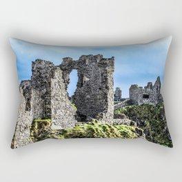 Travel to Ireland: Dunluce Castle Rectangular Pillow