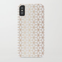 Hive Mind - Rose Gold #113 iPhone Case