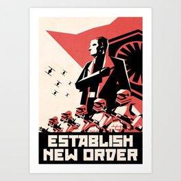 First Order (Hux) Art Print