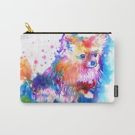 Pop Art Pomeranian Carry-All Pouch