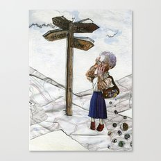 Alzheimer's Disease. Canvas Print