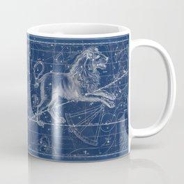 Leo sky star map Coffee Mug