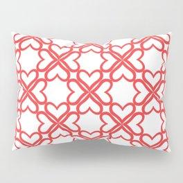 Jumbled Red Pillow Sham