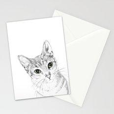 A Sketch :: Cat Eyes Stationery Cards