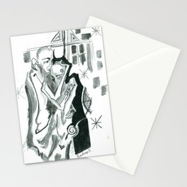 away Stationery Cards