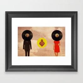 Amor divino Framed Art Print
