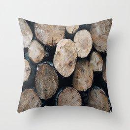 Woods Throw Pillow