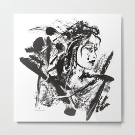 Lost Warrior Metal Print